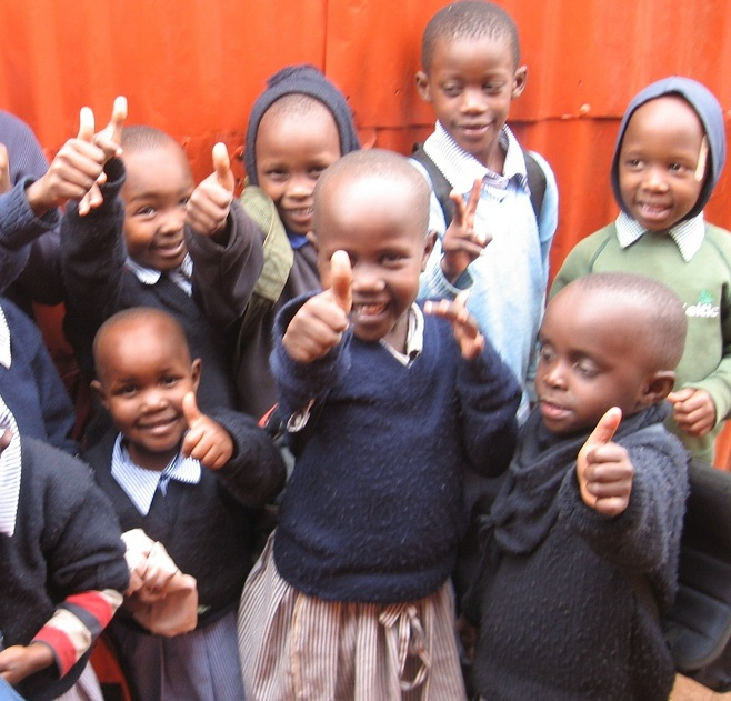 Some of the children who benefit from our non-profit organization in Houston