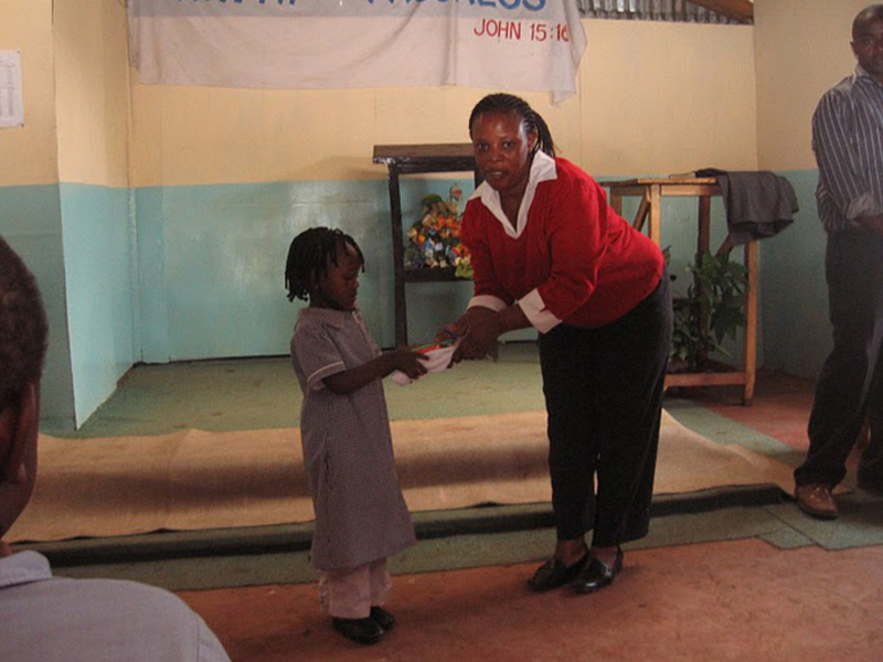 A graduation ceremony acknowledges each students success at the school