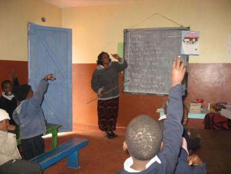 Teacher Lydiah