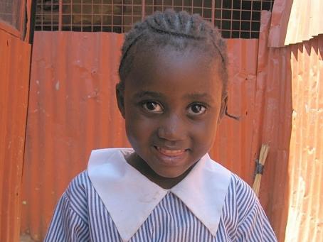 Salome (Happy) Ochoki - Girl. June 24, 2004. Father Widower