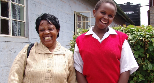 Tenderfeet Australia exists to support the vision of Mama Margaret Nyabuto and the Kipepeo programme