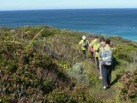 Geographe Bushrangers coastal walk to raise money