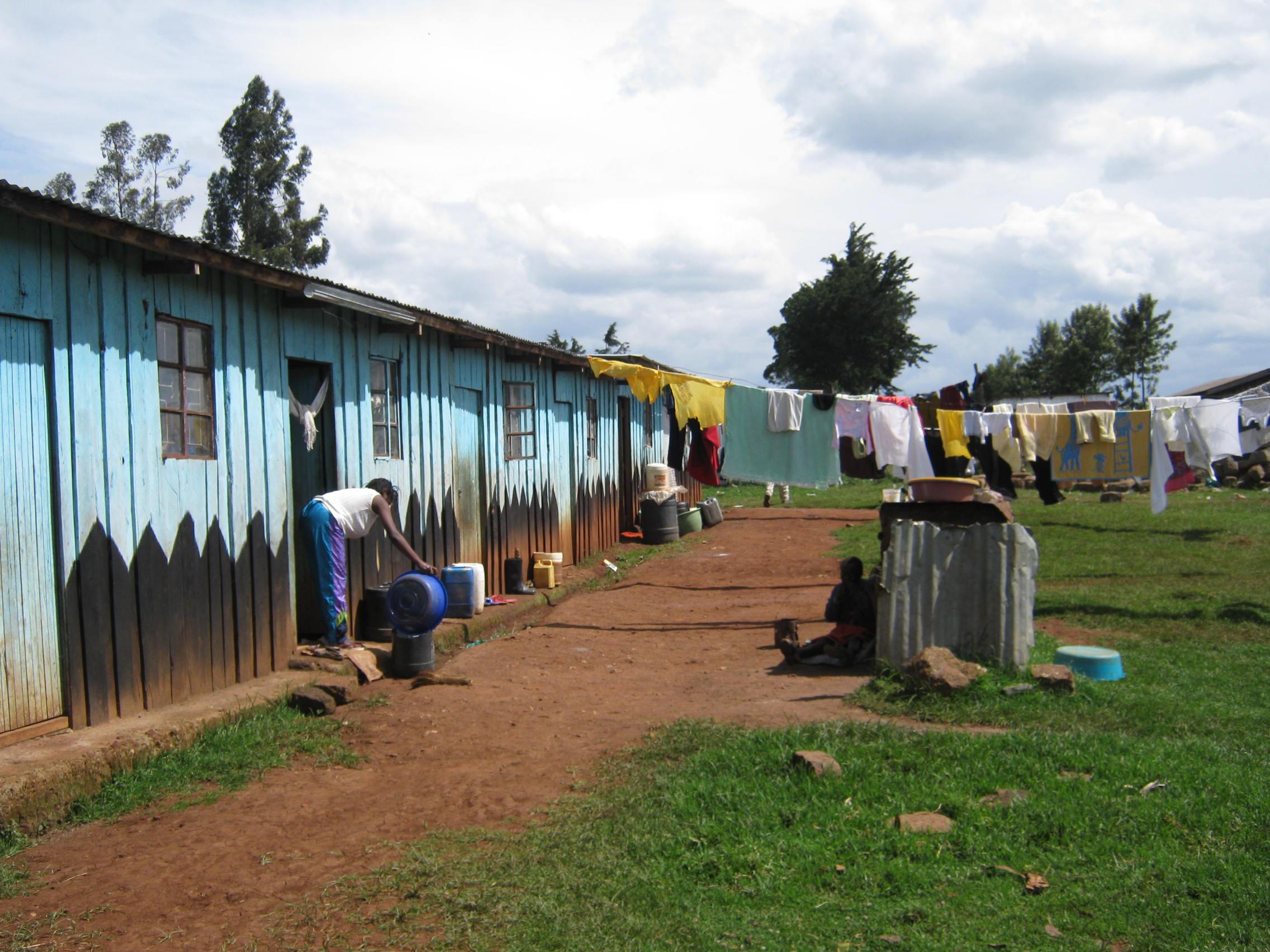 Ann Wanjiku's home