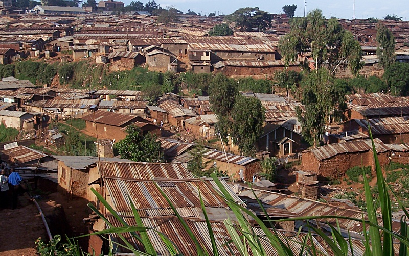 Kianda area of Kibera