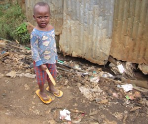 Life in the Kibera slums is incredibly harsh for children