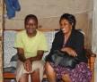 Linet Atieno and Mama Margaret