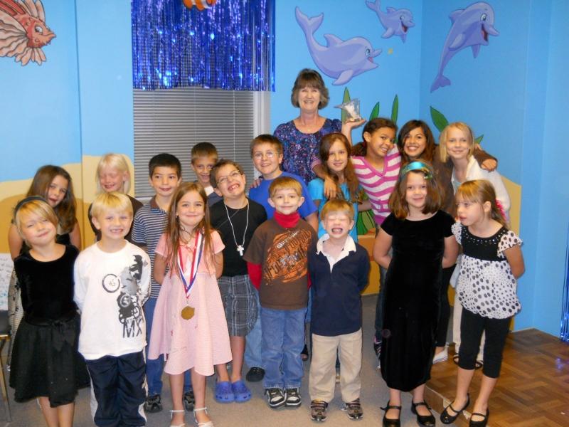 Miss Dawn's Sunday School Class