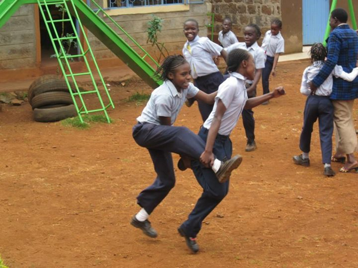 Older children learn balance