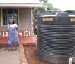 The Tenderfeet water tank